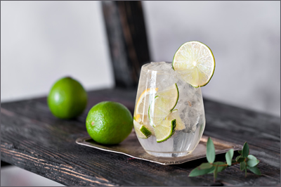 Water with Lime